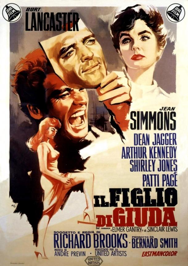 Elmer Gantry poster 2