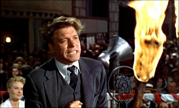 Image result for burt lancaster in elmer gantry